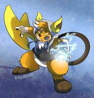 [Commission] FluffalRaichu by raizy