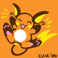 Tiny Raichu by raizy