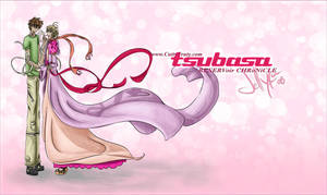Tsubasa : Syaoran and Sakura by Jellyka
