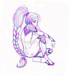 Why so glum chum by BossyGirl