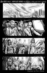 Zombies Page 1 Greys by ZhouRules
