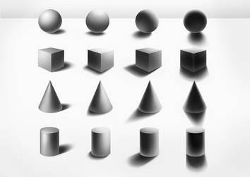 Back to Basics: Shading Basic Shapes by sjea