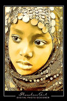 Nubian Face by M-AlJabarty