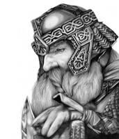 Gimli son of Gloin by Diego-Designs