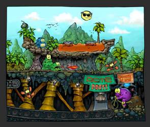 Creatures 2 C64:Clyde Radcliffe Memories by kokesininja