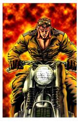 MANGA MOTORCYCLE NAZI by gojera
