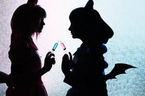 xxxHolic cosplay Maru and Moru by eZhika