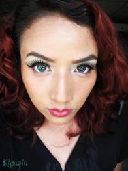 Pin up Makeup by klaupiu