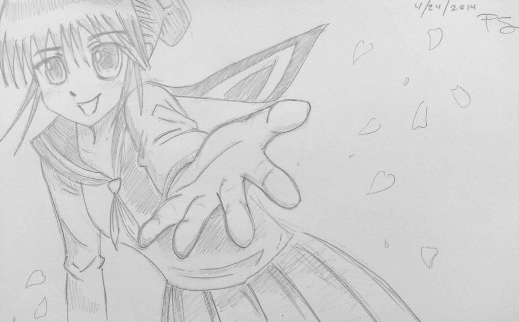 Grab my hand! by Geminithegiant