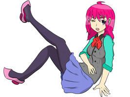 Rochelle! Cute Anime Grillz #1 by Geminithegiant