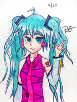 TOUCH Marker Practice 01 by Geminithegiant