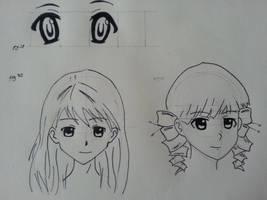 Mastering Manga Sketches 01 by Geminithegiant