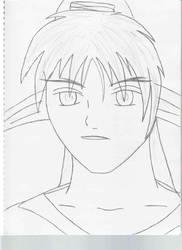 KM Secret Santa base sketch by Shiroikami