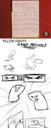 -Strip- Pillow Fights by Lan-Nhi