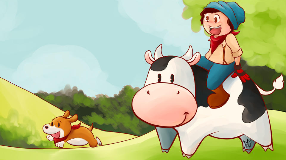 ImmortalHD plays Harvest Moon by CypherDen