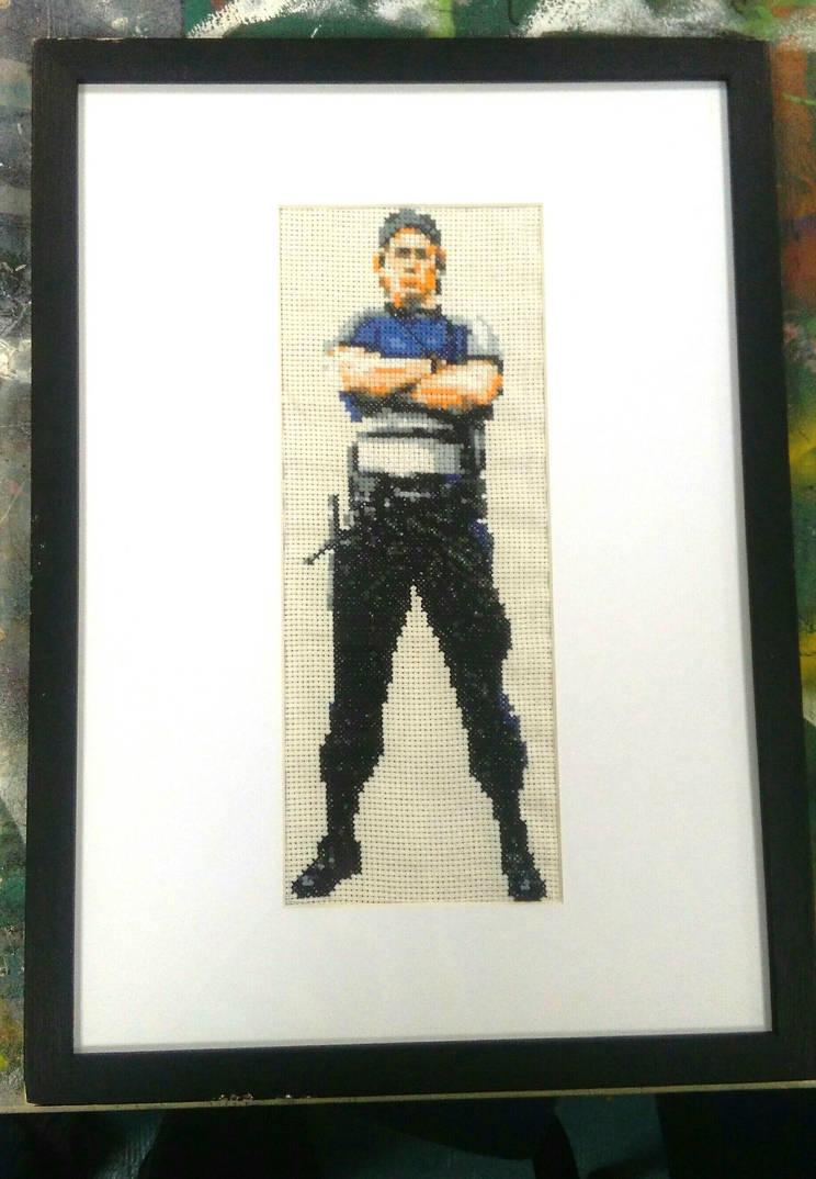 Kurtis Stryker cross stitch by Gerona-Queen