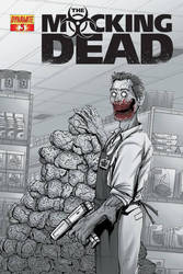 THE MOCKING DEAD ( DYNAMITE COMICS ) by aikauthecolorist