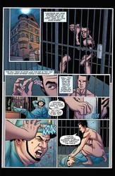 SHERLOCK HOLMES VS HOUDINI ( DYNAMITE COMICS) by aikauthecolorist