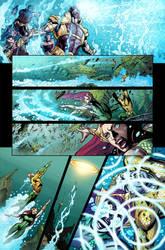 AIKAU-COLOR-Aquaman 023 005 by aikauthecolorist