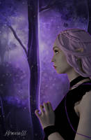 THE PURPLE FOREST by KerensaW