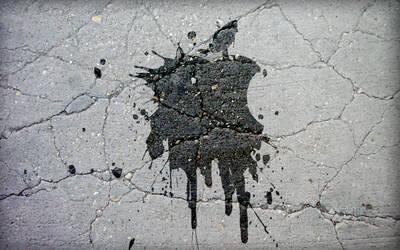 Splashed Apple by eovnu87435ds