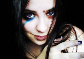 Imperfect Blue by ErikHaya