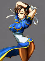 Chun-Li by Esther-Shen
