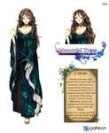 Lanari Character sheet by Esther-Shen
