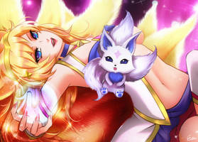 Ahri Star Guardian by Esther-Shen