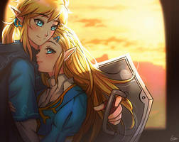 The Legend of Zelda: Breath of the Wild by Esther-Shen