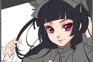 Rory Mercury WIP by Esther-Shen
