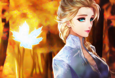 Frozen 2 by Esther-Shen