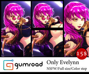 Gumroad : Evelynn by Esther-Shen