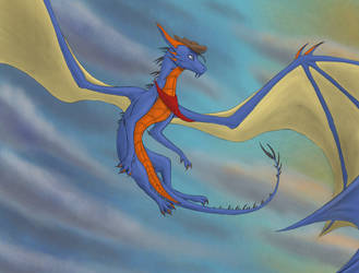 Birthday Gift: The Flight of Inspiration by Darkanioid1997