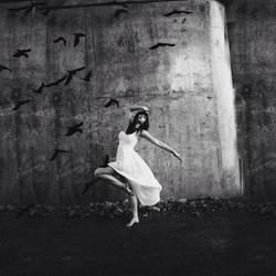 Dancing as a bird by carbocart