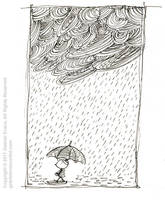 Sketchbook Rain by GabrielEvans