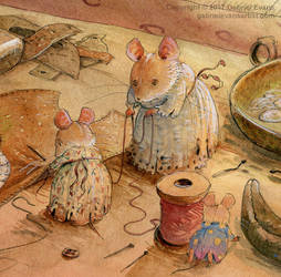 Mice and the Shoemaker by GabrielEvans