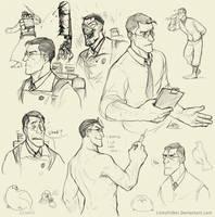 Medic doodles by Lintufriikki