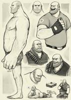 Heavy studies by Lintufriikki