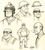 helmets and spies by Lintufriikki