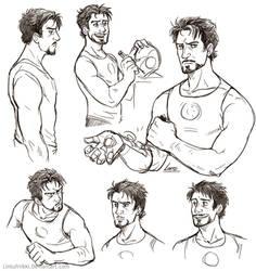 Stark doodles by Lintufriikki