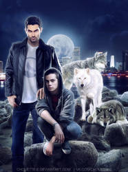 Wolves by chouette-e