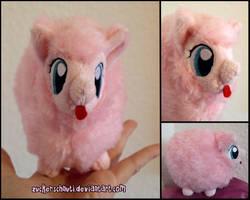 Tiny Pony: Fluffle Puff to go.. xD by zuckerschnuti