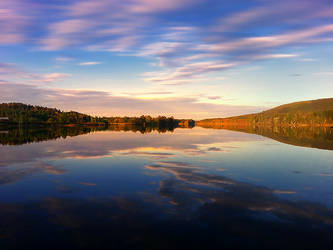Ljusnan River by RobinHedberg