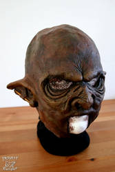 Orc LARP latex mask - Yshara's new face by Yshara