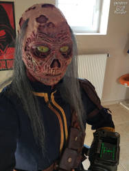 Ghoul costume test by Yshara