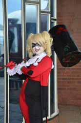 Harley Quinn,pleased to meetcha! by Valkyrie-Ghost