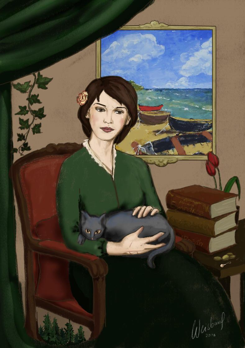 'Mother lost an earring...' by LadyAfelia