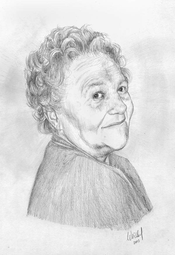 Old Lady by LadyAfelia