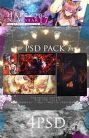 Psd Pack 7 / Happy New Year by RyuzeNanzuke